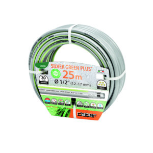 """Claber Silver Green Plus Hosepipe 1/2"""" - 25 Metres"""