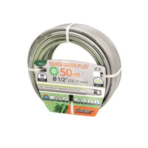 """Claber Silver Green Plus Hosepipe 1/2"""" - 50 Metres"""