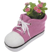 Colourful Shoe Planters