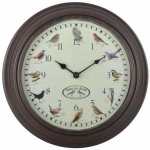 Fallen Fruits Bird Song Clock