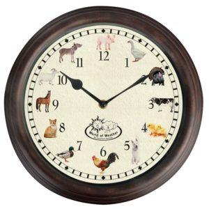 Fallen Fruits Farm Animal Sound Clock