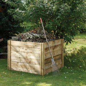 Forest Garden Slot Down Compost Bin