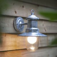 Garden Light - St Ives Ships Light - Galvanised