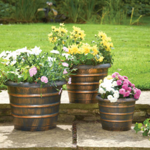 Greenhurst Beehive Planters (Pack of 3)