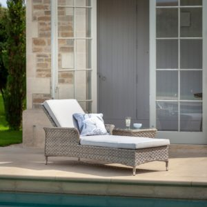 Hartman Heritage Lounger With Cushion (Beech and Dove)