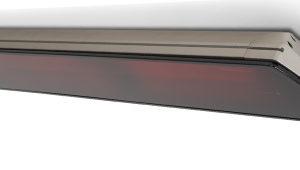 Heatscope Vision 2200W (Titanium/Black) w/Remote Patio Heater