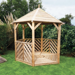 Kelkay Willoughby Gazebo Open Side