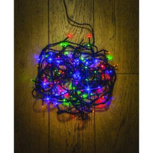 Noma 100 LED Static Multi Colour Christmas Lights