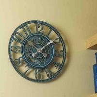 "Outside Wall Clock - Newby Mechanical Verdigris 12"""