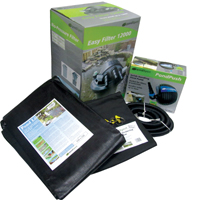 PondXpert EasyPond 10000 Pond Kit with Liner & Underlay