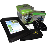 PondXpert EasyPond 7000 Pond Kit with Liner & Underlay