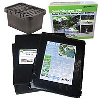 PondXpert EcoFilter 2000 Pond Kit with 4 x 3m Liner & Underlay