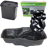 PondXpert EcoFilter 4000 Pond Kit with Preformed Pond & Waterfall