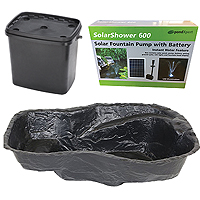PondXpert EcoFilter 4000 Pond Kit with Preformed Pond