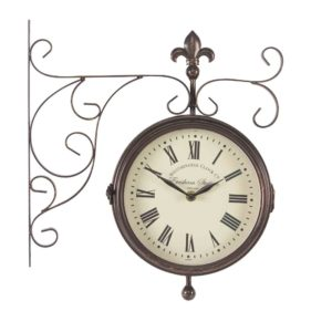"""Smart Garden Double Sided Marylebone Station Clock & Thermometer 8"""""""