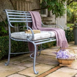 Southwold Garden Bench (with Back) - 2 Seater