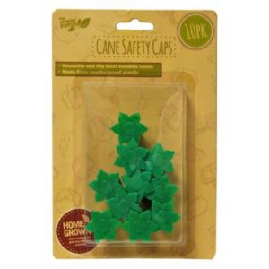 10 Pack Growing Patch Bamboo Cane Safety Cap