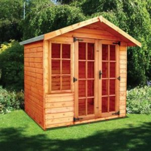 Albany Sheds Clipston 7' x 5' Apex Shiplap Wood Garden Summer House