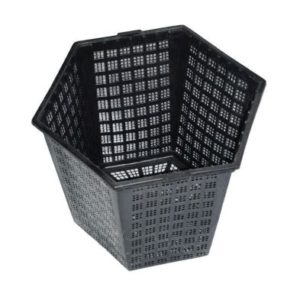 Anglo Aquatics Finofil 18 x 21cm Hexagonal Pot Pack Of 3