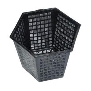 Anglo Aquatics Finofil 18 x 21cm Hexagonal Pot Pack Of 3