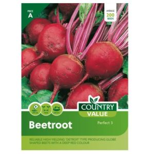 Country Value Beetroot Perfect 3 Seeds