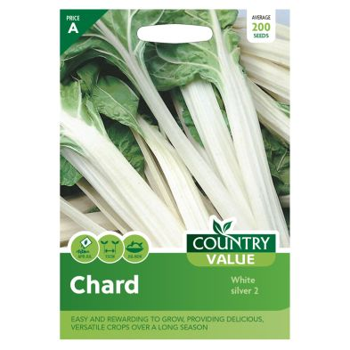 Country Value Chard White silver 2 Seeds
