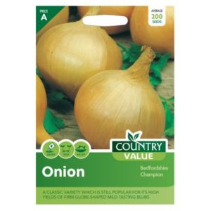 Country Value Onion Bedfordshire Champion Seeds
