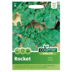 Country Value Rocket Salad Leaves Seeds