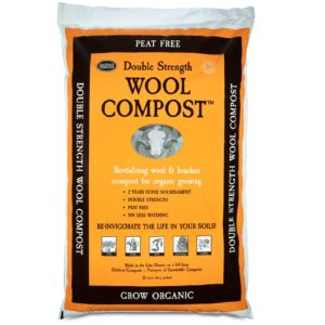 Double Strength Wool Compost 30 Litre