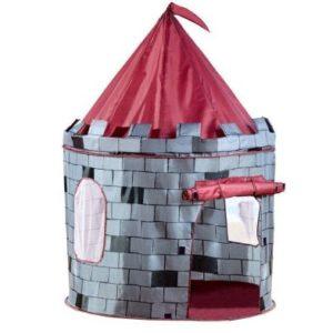Grey Knight Castle Play Tent Indoor Outdoor Garden Playhouse