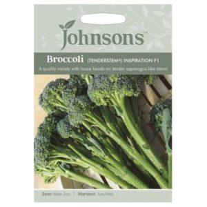 Johnsons Broccoli Tender stem Inspiration F1 Seeds