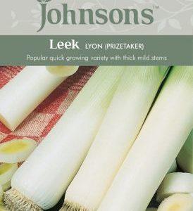 Johnsons Leek Lyon Prizetaker Seeds