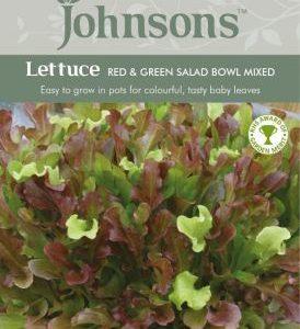 Johnsons Lettuce Red & Green Salad Bowl Seeds