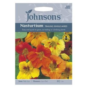 Johnsons Nasturtium Trailing Sing Seeds