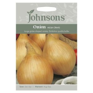 Johnsons Onion Ailsa Craig Seeds