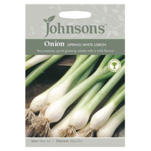 Johnsons Onion Spring White Lisbon Seeds