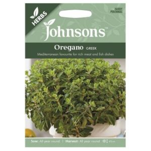 Johnsons Oregano Greek Seeds