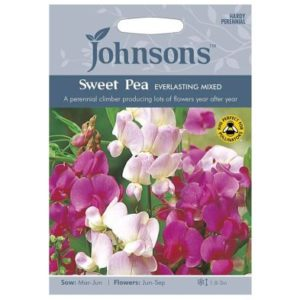 Johnsons Sweet Pea Everlasting Mixed Seeds