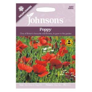 Johnsons Wild Flowers Poppy Seeds