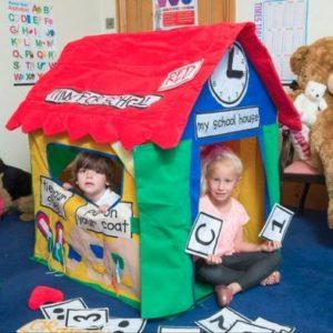 Jumpking Bazoongi Kids Playhouse Learning Cottage