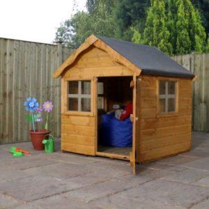 Mercia 4 x 4 Snug Shiplap Apex Single Storey Playhouse