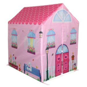 Pink Playhouse Wendy House Indoor Outdoor Play Tent