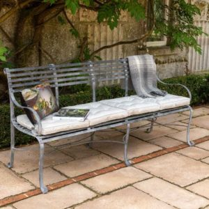 Southwold Garden Bench 4 Seater (with Back)
