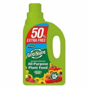 Westland Gro Sure All Purpose Plant Food 1Ltr 50% Free