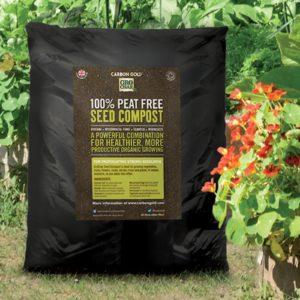 Carbon Gold Biochar Seed Compost 8l