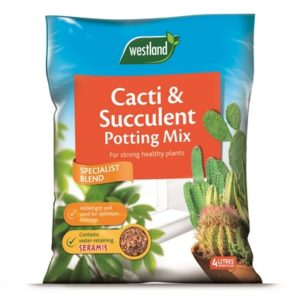 Westland Cacti And Succulent Potting Compost Mix 4 Litre