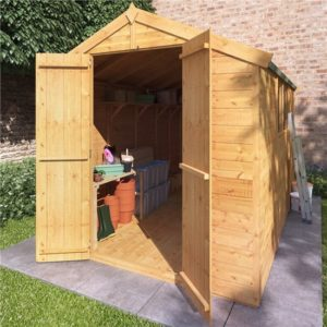 10x6 Master T&G Apex Wooden Shed - Windowed BillyOh