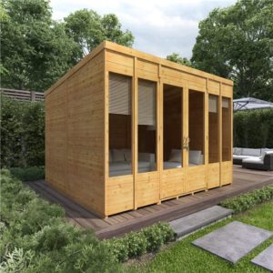 10x8 Bella T&G Pent Summerhouse - BillyOh