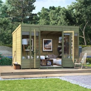 10x8 Bella T&G Pent Summerhouse -PT BillyOh