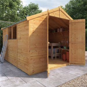 10x8 Master T&G Apex Wooden Shed - Windowed BillyOh
